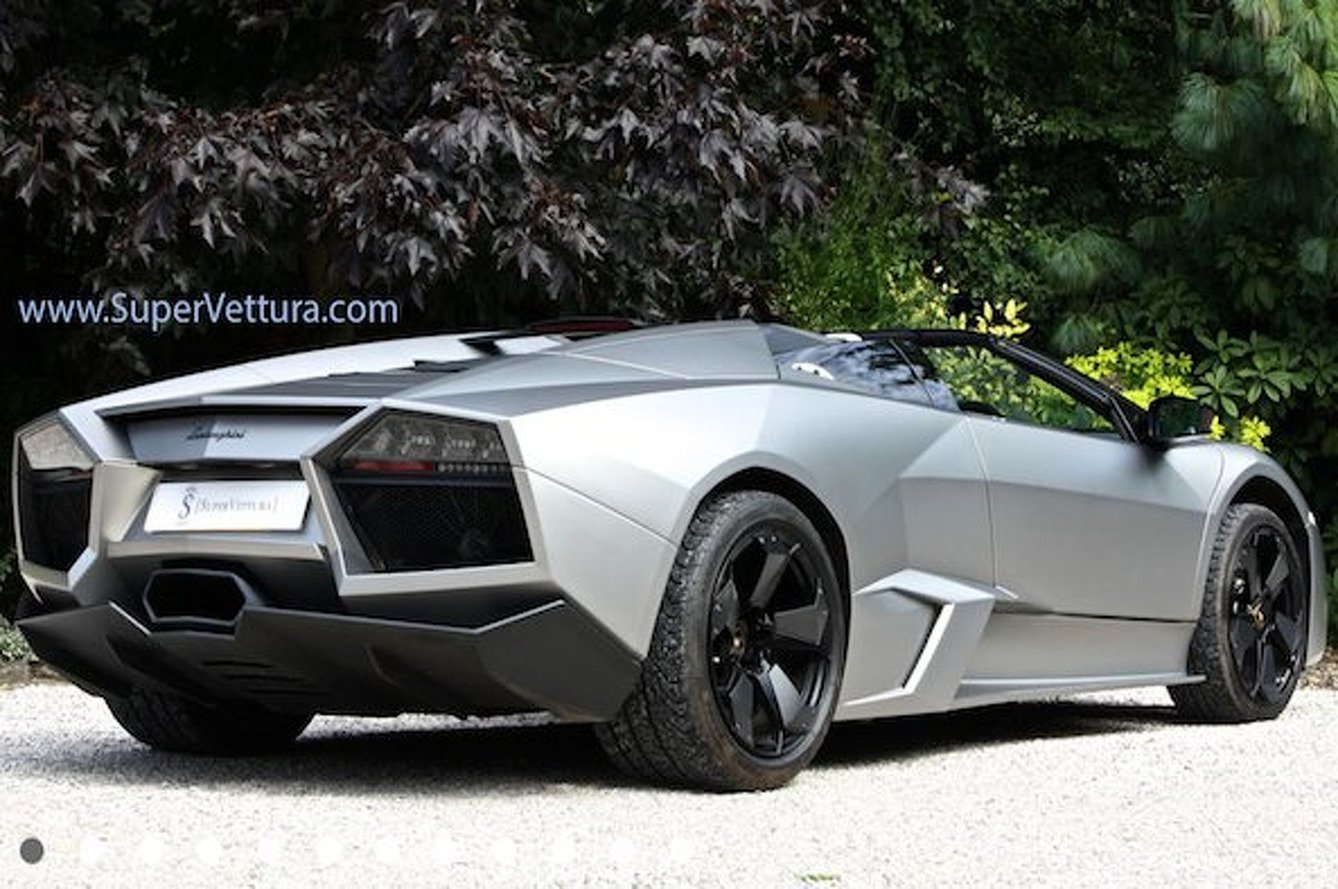 For $1.75M, Own this Lamborghini Reventon Roadster