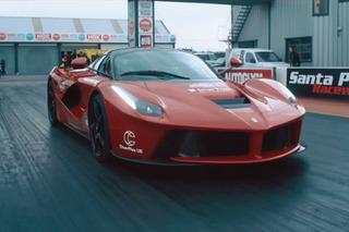 Watch All Three Hybrid Hypercars Go Drag Racing