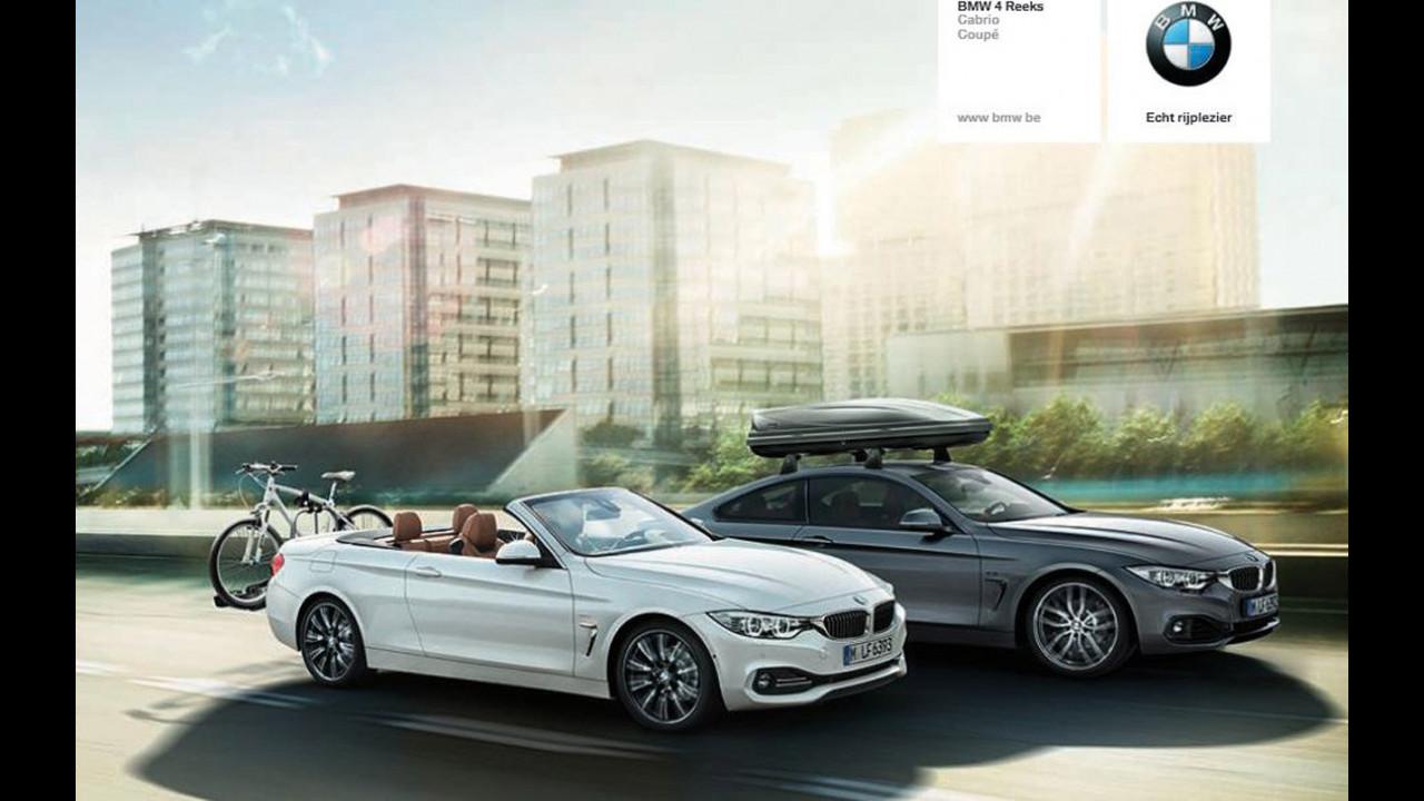 BMW Serie 4 Cabriolet. Le prime foto