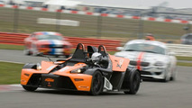 KTM X-Bow in GT4 European Cup at Silverstone
