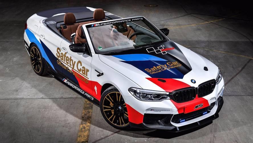 Üstü açık BMW M5 bir harika görünüyor