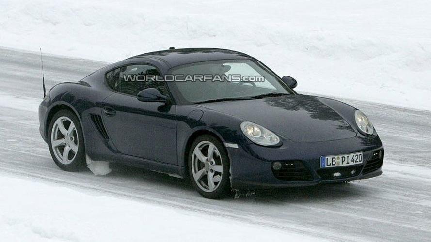 SPY PHOTOS: Porsche Boxster and Cayman Facelifts