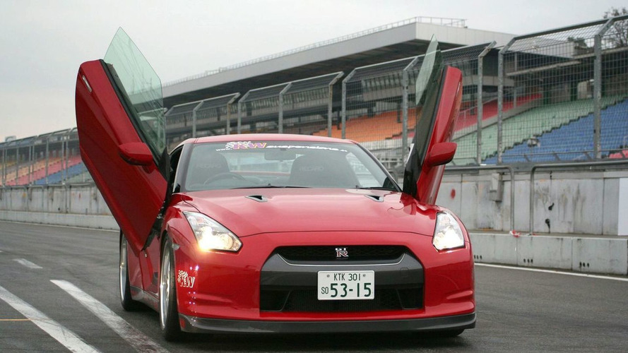 LSD Wing Doors for Nissan GT-R