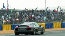 Audi runs R8 e-Tron prototype at 24 Hours of Le Mans 14.06.2010
