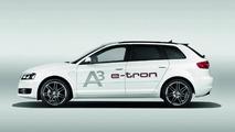 Audi A3 e-tron first official photos 08.04.2011