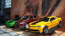 Chevrolet Autobots for Transformers 4 at 2014 New York Auto Show