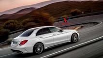 2015 Mercedes-Benz C63 AMG render