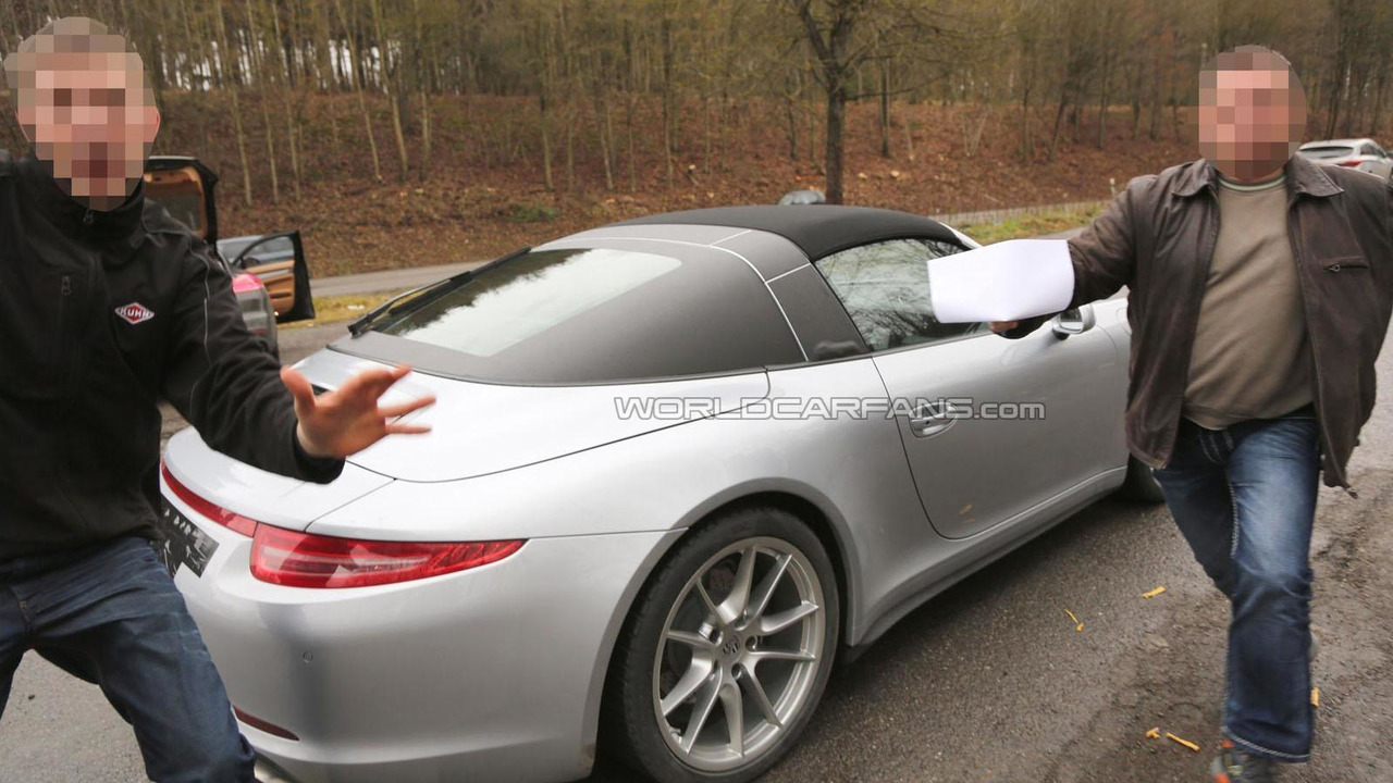 2014 Porsche 911 Targa spy photo 23.12.2013