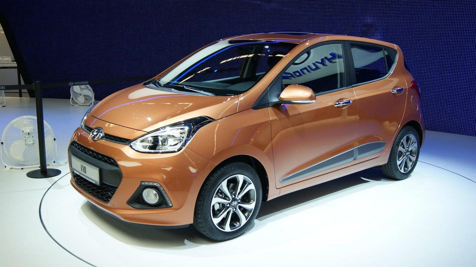 2014 hyundai i10 introduced in frankfurt. Black Bedroom Furniture Sets. Home Design Ideas
