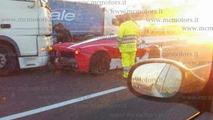 LaFerrari accident