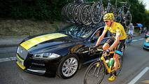 Jaguar XF Sportbrake Tour de France support vehicle 22.7.2013