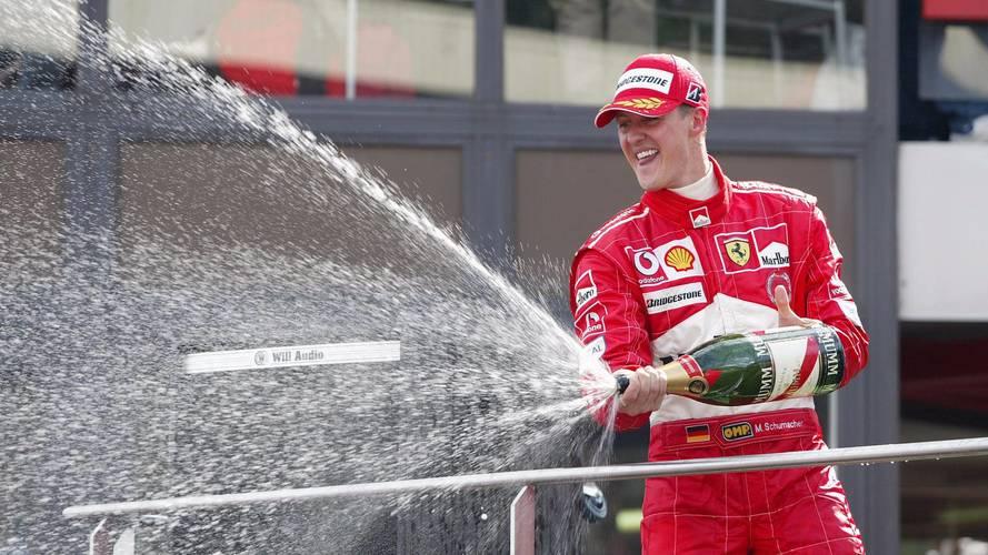 Schumacher, el mejor piloto de Ferrari