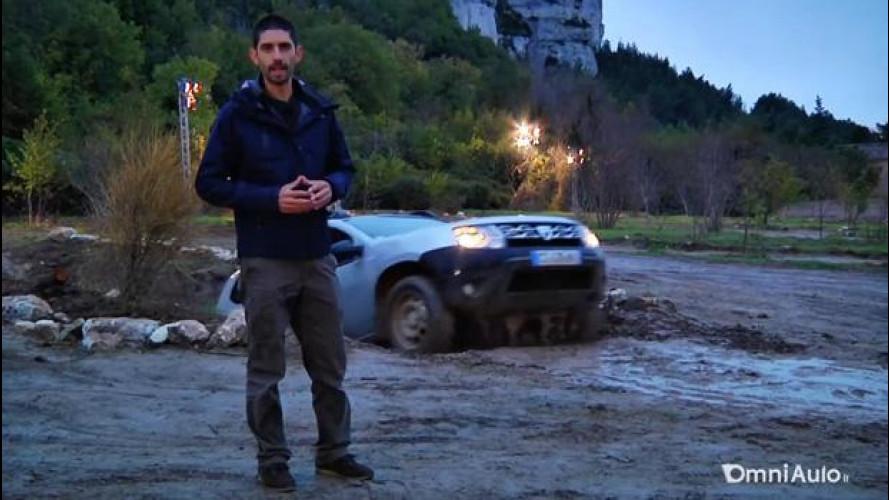 Dacia Duster restyling, gran divertimento in fuoristrada [VIDEO]