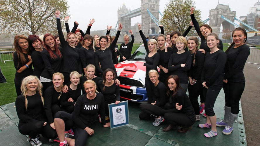 MINI sets two new Guinness World Records