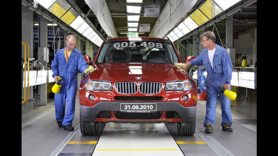 La BMW X3 diventa americana