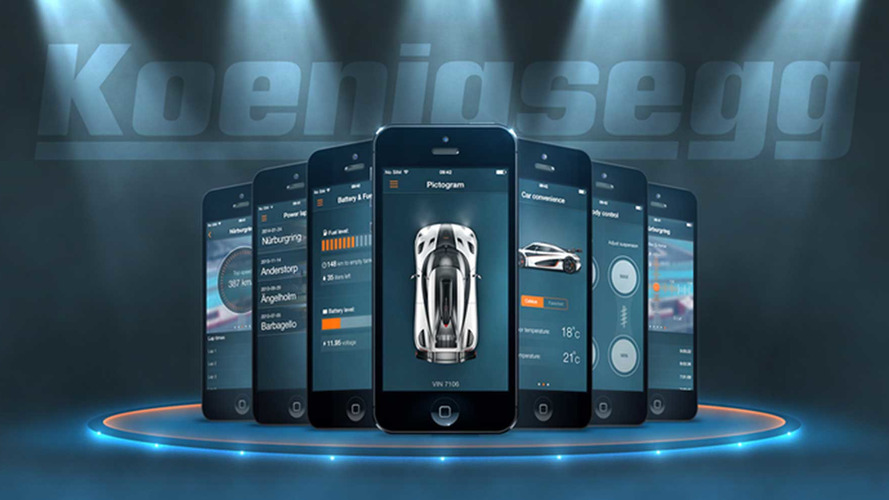 Koenigsegg application mobile