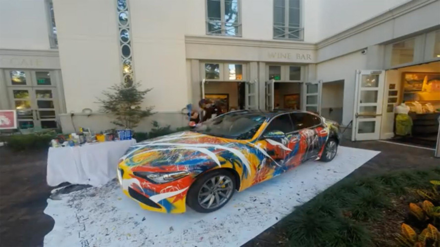 Alfa Romeo Giulia Art Car Adds Color To Your Garage For $99K
