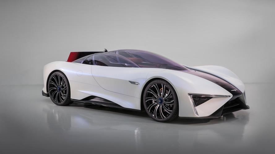 Genève 2017 - 1305 chevaux pour la supercar électrique à turbine