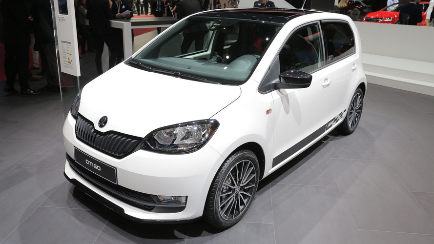 2017 Skoda Citigo brings a shiny dashboard to Geneva
