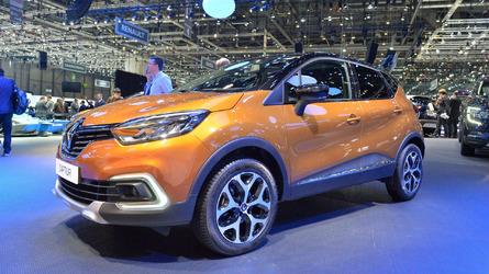 Renault Captur exibe visual renovado para o público de Genebra