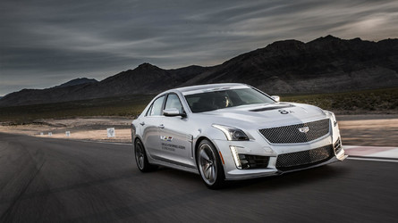I Drove The CTS-V In The Desert And Didn't Die