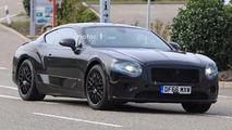 2018 Bentley Continental GT new spy shots