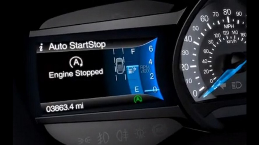 Ford afirma que Start-Stop estará presente em 70% de seus veículos até 2017