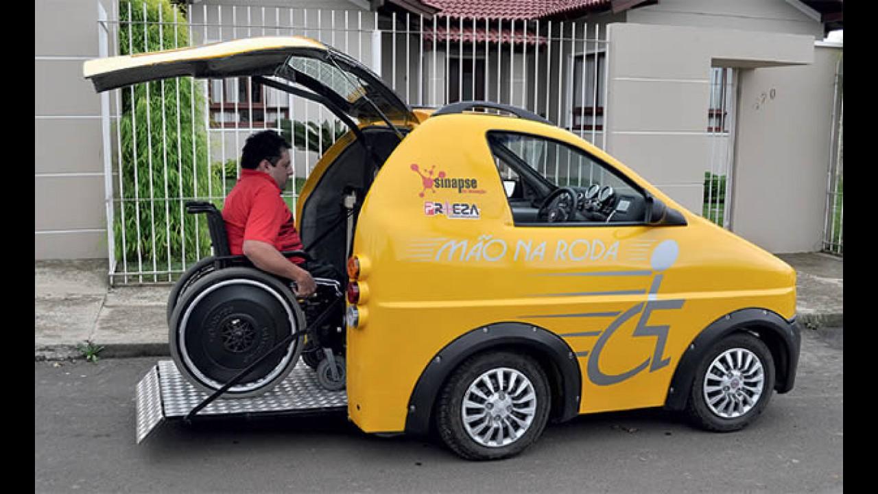 Pratyko: Carro nacional para cadeirantes