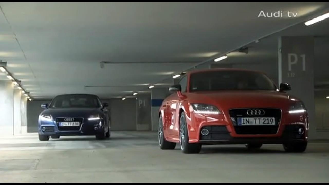 VÍDEO mostra detalhes do renovado Audi TT 2011