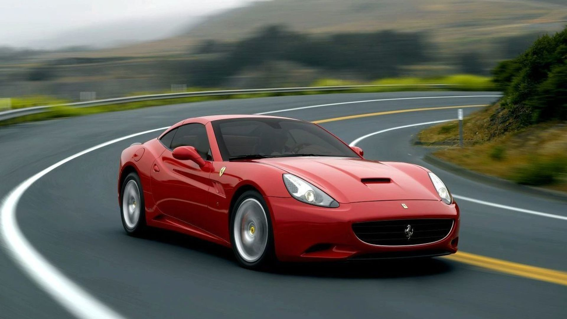 First UK Bound Ferrari California gets Special \'F1 CAL\' Licence Plate