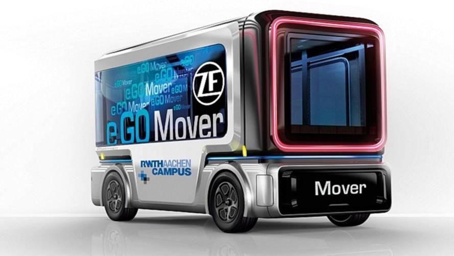 ZF irá produzir carro elétrico autônomo em 2019