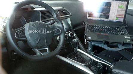 L'intérieur du Renault Kadjar restylé débusqué !