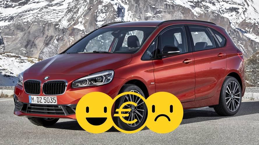 Promozione BMW Serie 2 Active Tourer, perché conviene e perché no