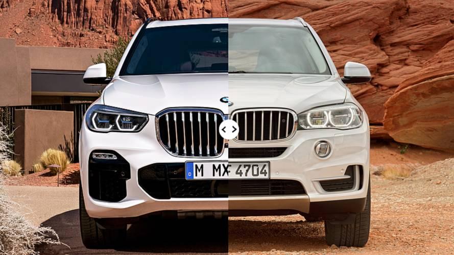 BMW X5, nuova e vecchia a confronto