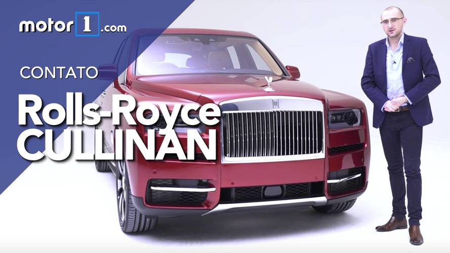 Vídeo - Nosso contato com Rolls Royce Cullinan no Reino Unido