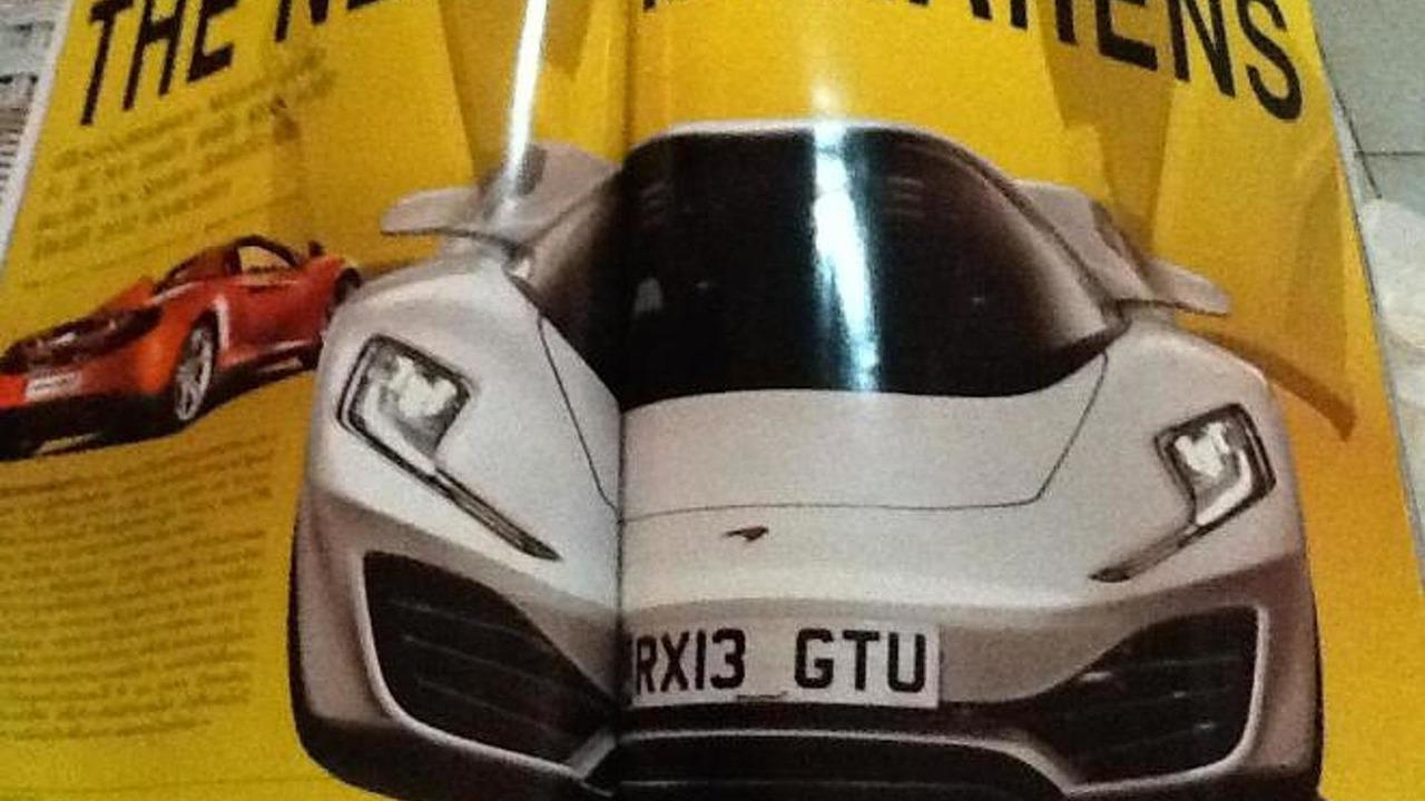 McLaren P12 renderings from CAR magazine, 900, 07.03.2012