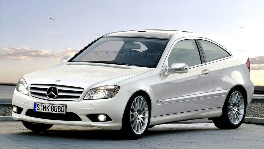 Mercedes CLC Spied: C Class Sportcoupe to be renamed
