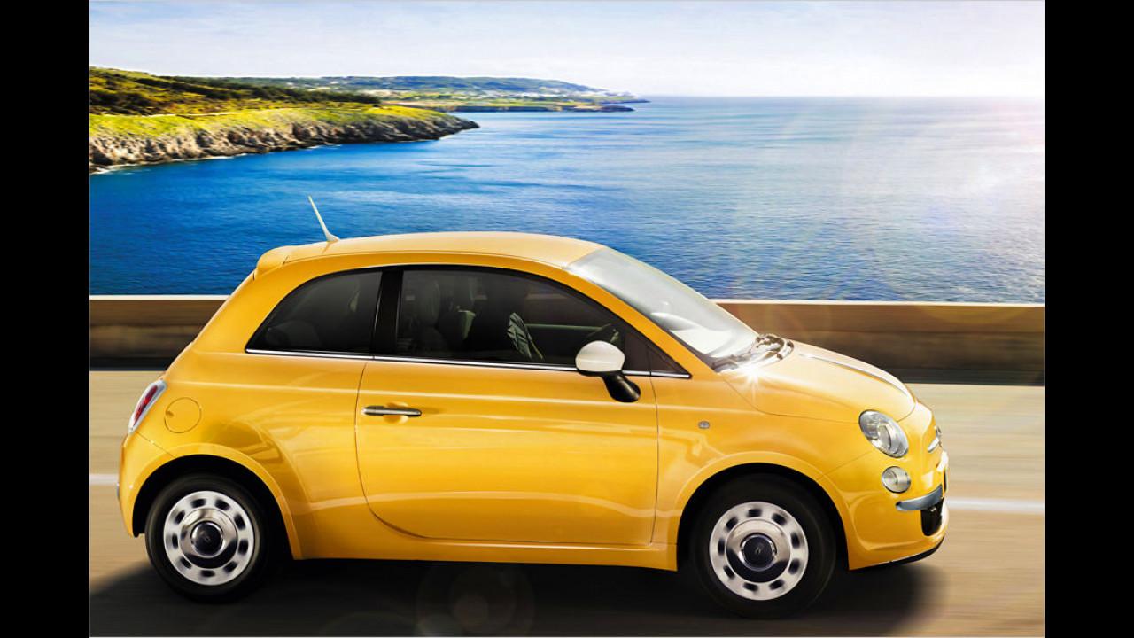 Minis, Platz 2: Fiat 500 (7.221 Stück)