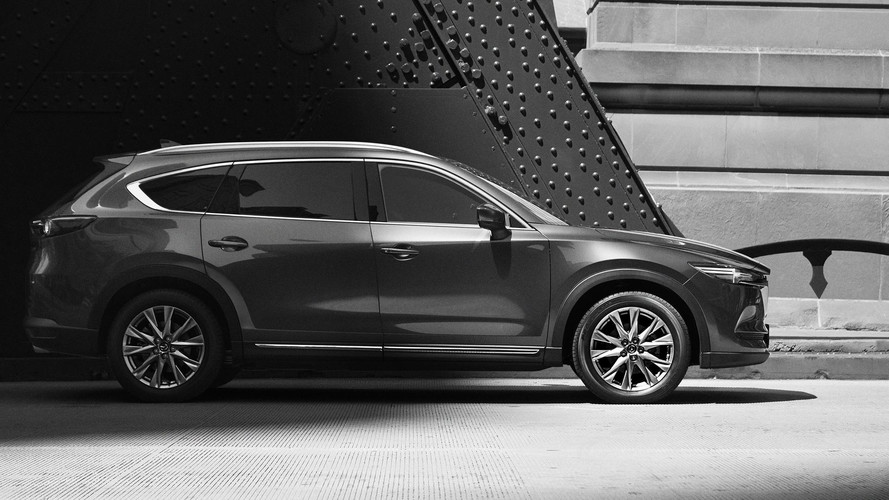 Mazda reveals exterior of new Mazda CX-8 SUV