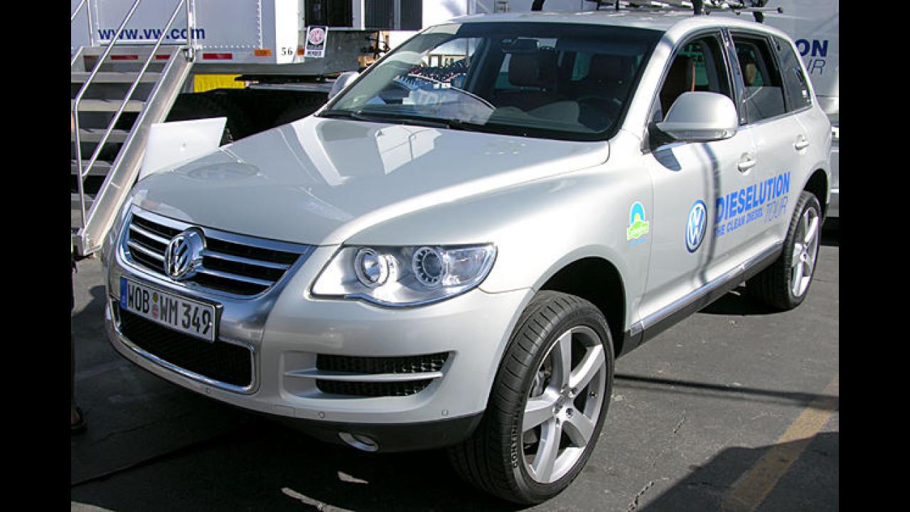 VW Dieselution-Tour Touareg V6 TDI