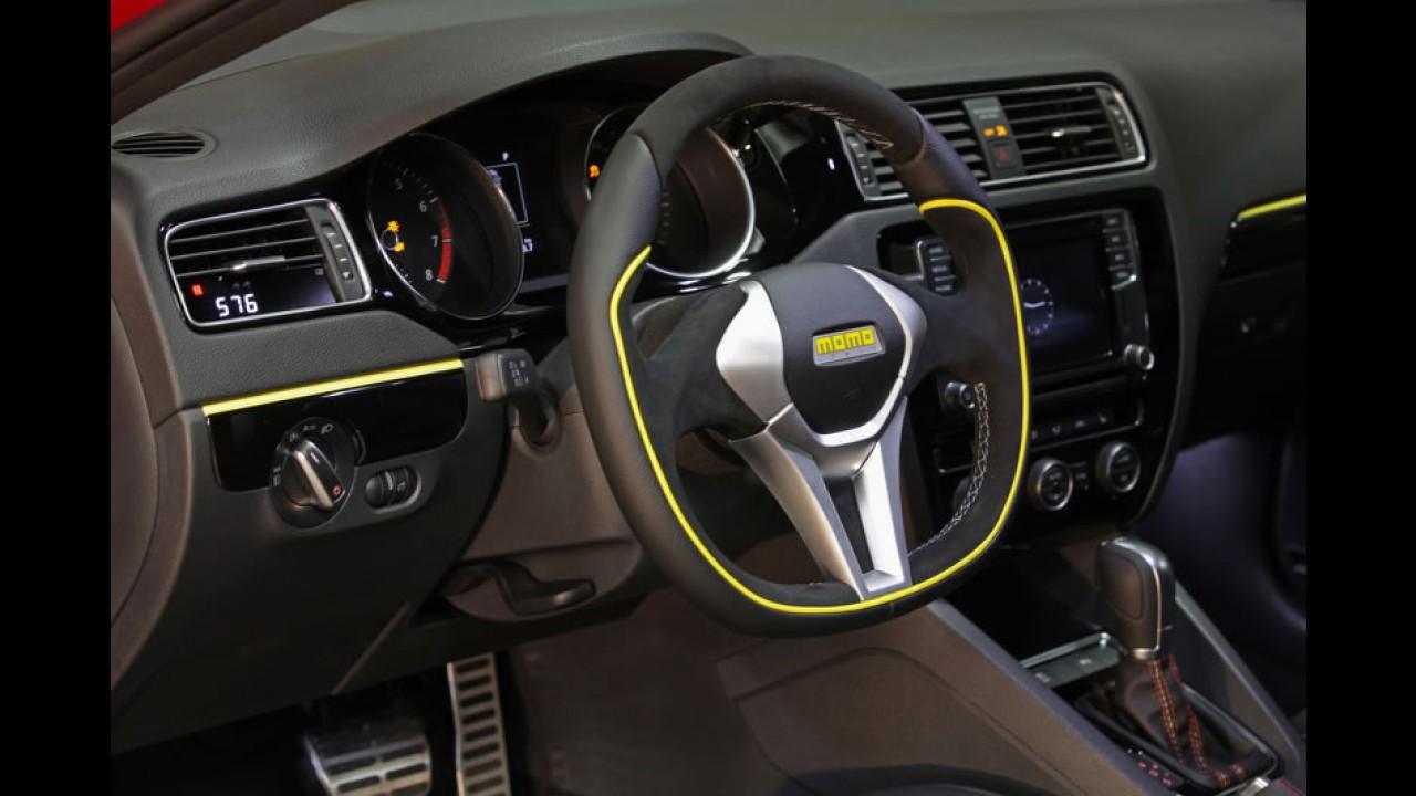 VW Jetta GLI fica ainda mais esportivo com preparação da MOMO