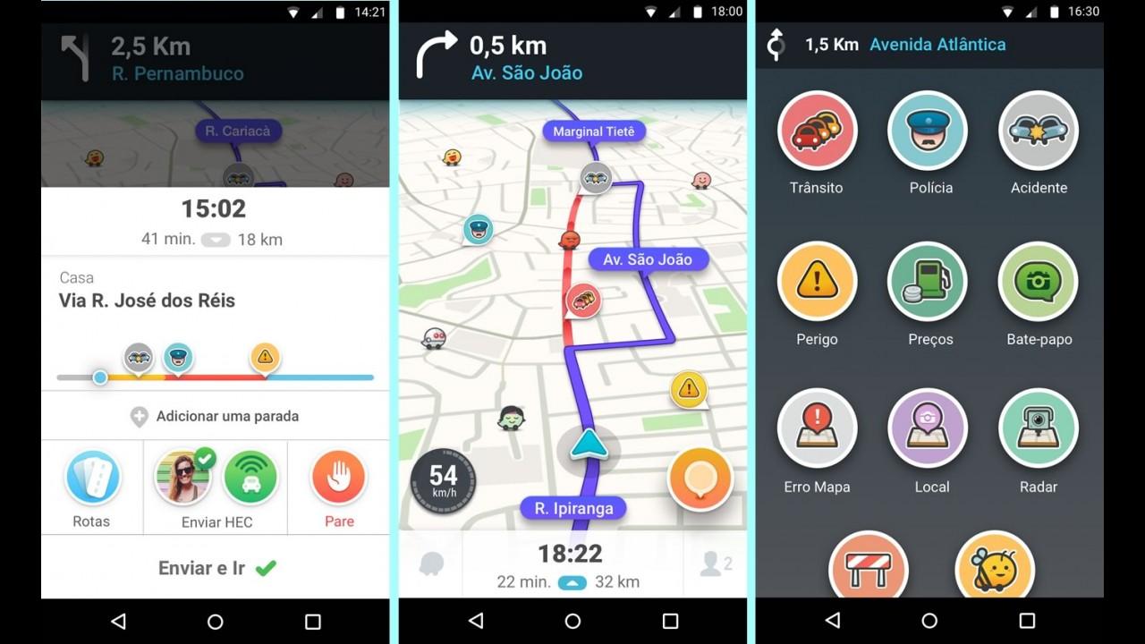 Waze 4.0 chega ao Android com nova interface e menor consumo de bateria
