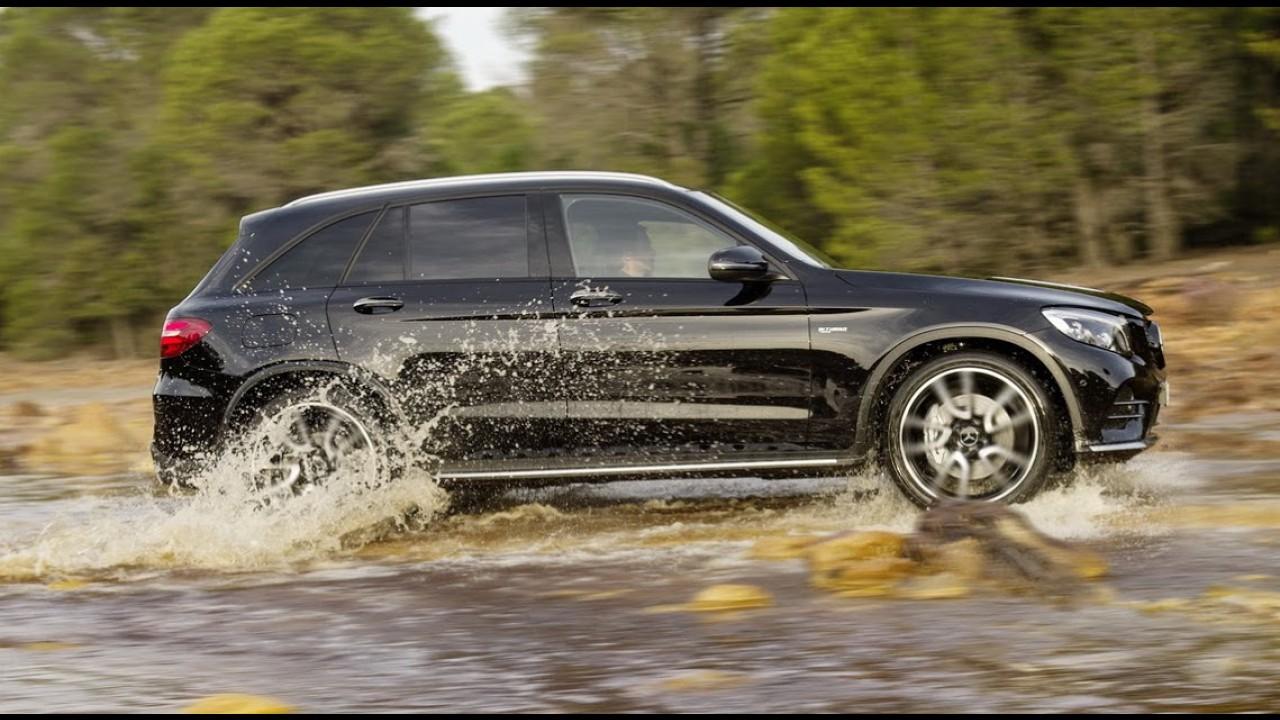 Mercedes GLC43 AMG chega com visual agressivo e motor biturbo de 367 cv