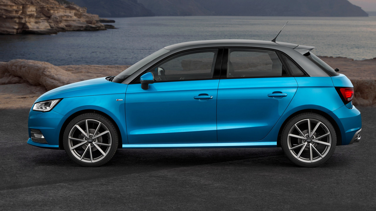 Audi A1 Sportback facelift