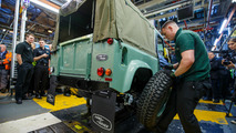 Solihul'da Üretilen Son Land Rover Defender