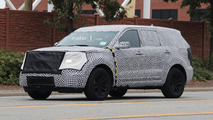 2019 Ford Explorer Spy Shots