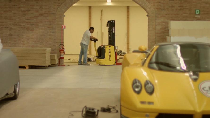 Pagani's new factory in San Cesario Sul Panaro, Modena