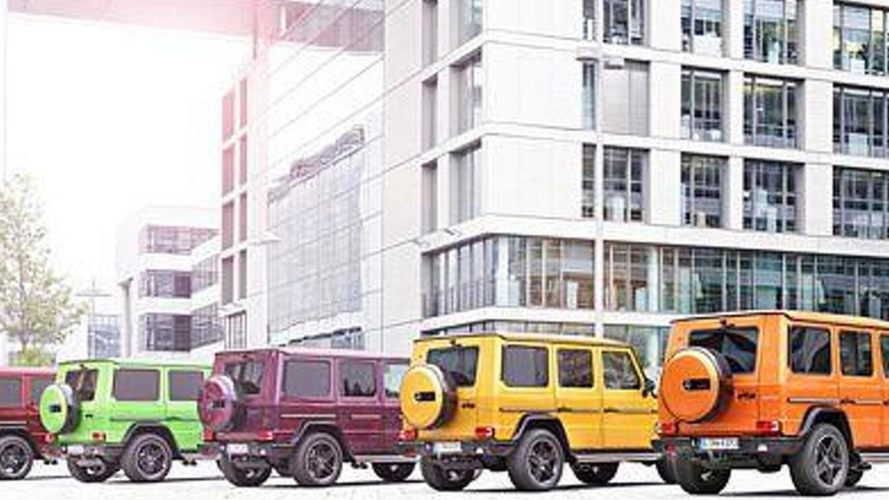 Mercedes-Benz G63/G65 Crazy Color