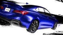 Galpin Auto Sports Acura TLX revealed for SEMA