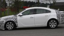 2013 Opel Insignia facelift spy photo